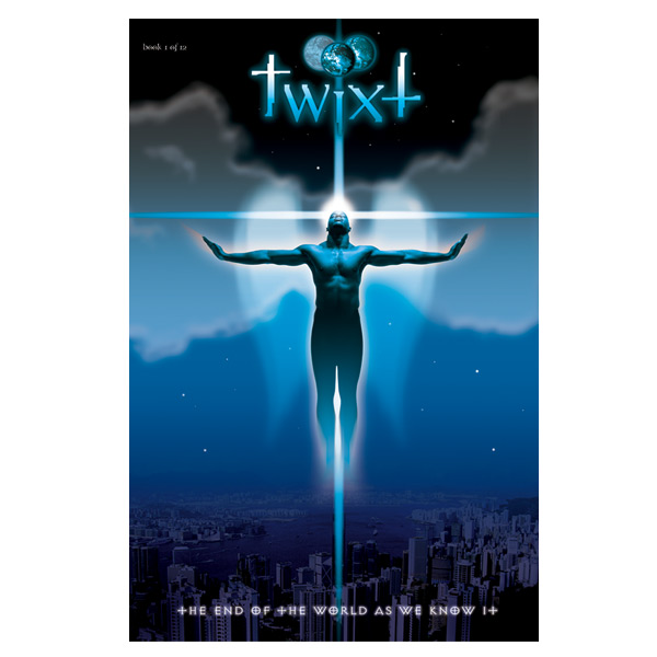 Graphic novel cover art for TWIXT, Book One