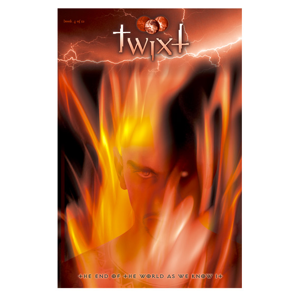 Graphic novel cover art for TWIXT, Book Three