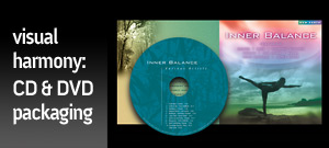 CD/DVD Packaging & Product Design by A.D. Design, Santa Fe, NM