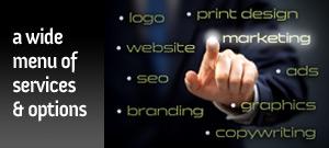 Design Services offered by A.D. Design, Santa Fe – Web Design, Graphic Design, Logo Design & more